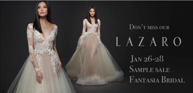 Lazaro Sample Sale