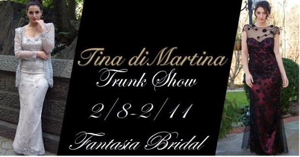 Tina di Martina Trunk show